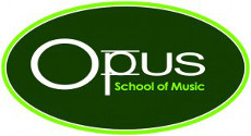 Opus School of Music Sticky Logo
